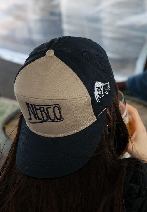 NEBCO Khaki/Navy Hat