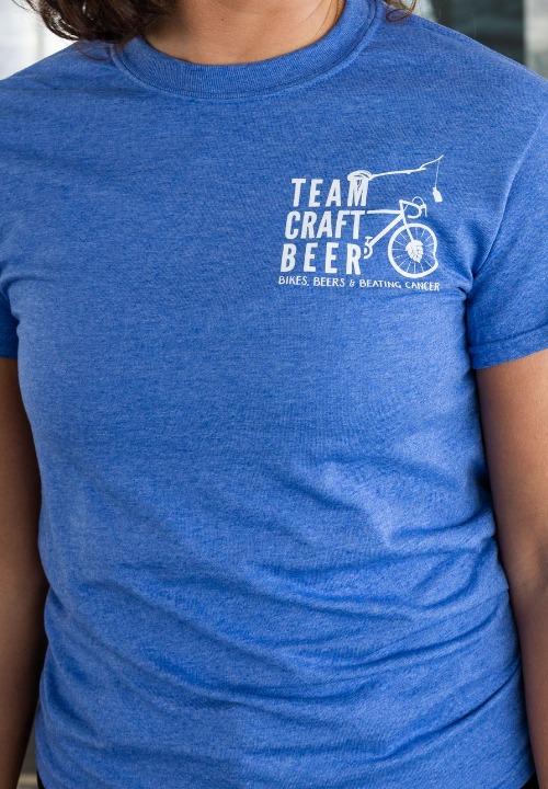 2021 Team Craft Beer Blue T-Shirt