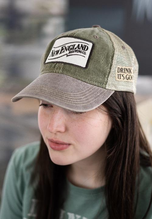 Swoosh Vintage Trucker Hat