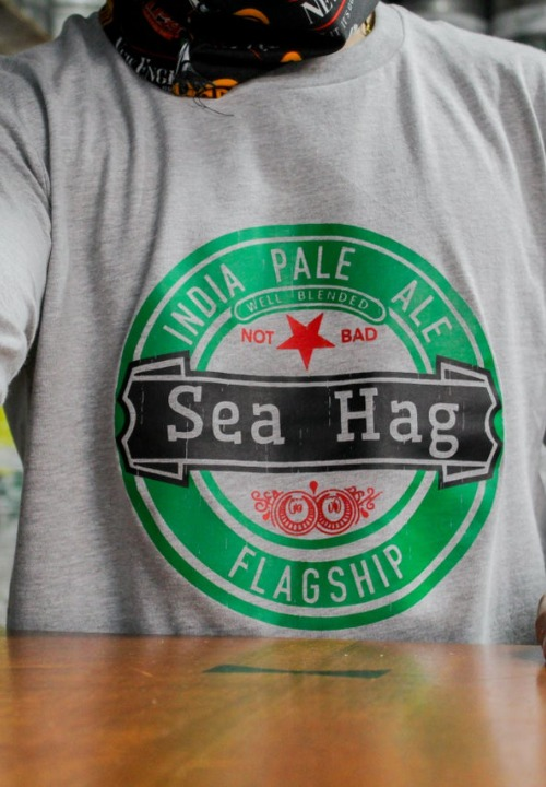 Parody Sea Hag Green & Black - Long Sleeve