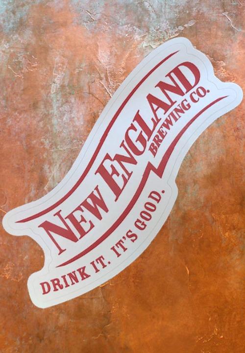 New England Logo Sticker