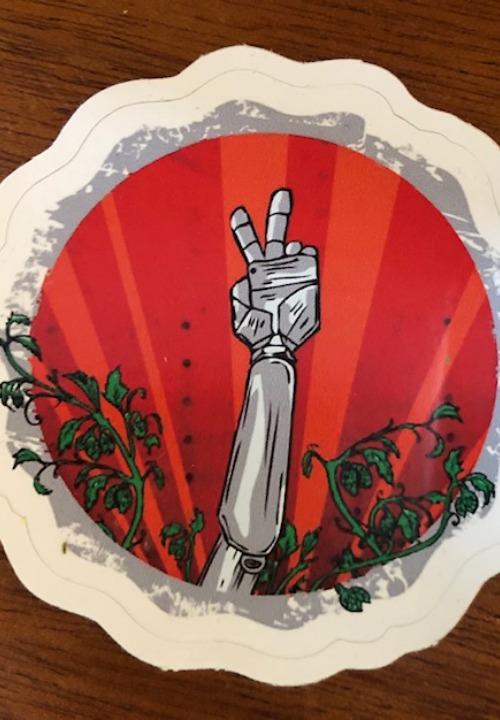 GBot Hand Sticker
