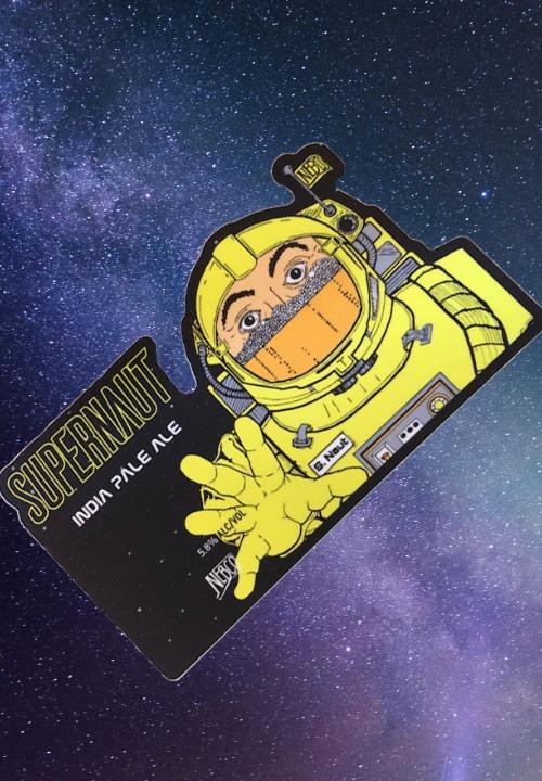 Supernaut Sticker