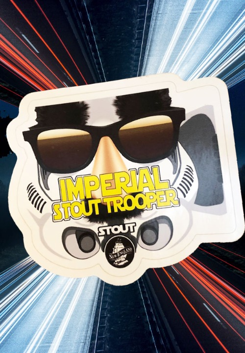 Imperial Stout Trooper Sticker