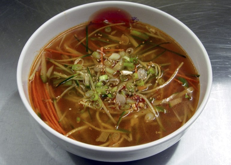 Cucumber Cold Noodle Soup Broth