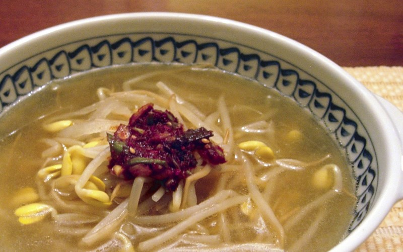 Soybean Sprout Soup